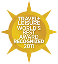 Travel + Leisure : World's Best Award Recognized 2011