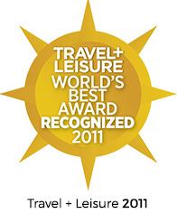 Travel+Leisure World's Best Award 2011