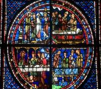 Chartres Cathedral, stained glass window