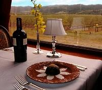 Wine Train- Dining Room
