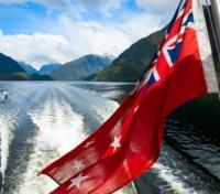 Patriotic NZ Boat Ride