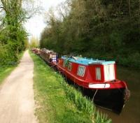 Narrow Boats on Kennet and Avon Canal