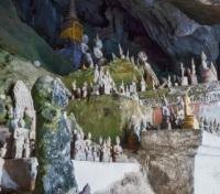 The Buddhas in Pak Ou Caves