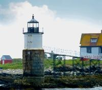 Lighthouse at Boothbay Harbor