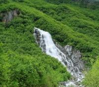 Waterfall in the Mountains of Valdez