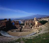 Greek Theatre in Taormina