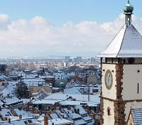 Freiburg during Winter