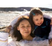Inuits at Ulukhaktok