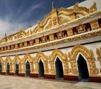 Pagoda on Sagaing Hill