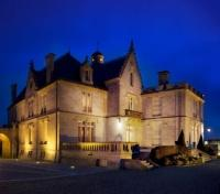 Chateau Pape Clement at Night