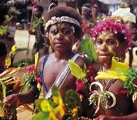Colorful Children of PNG