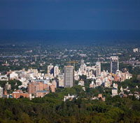 Panoramic view of Mendoza