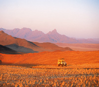 Sundown in the Namib