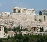 The main landmarks of Athens