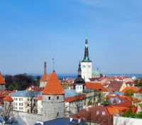 View of Tallinn from Tompea Hill