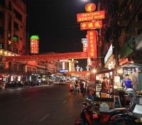 Chinatown at night