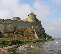View of the fortress of Bilhorod-Dnistrovskyi