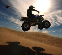 ATV ride through the desert