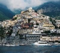 Sea-view of Positano, Amalfi Coast