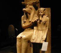 Amenhotep III and Sobek, Luxor Museum