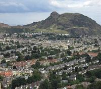 Arthur's Seat viewed from Blackford Hil