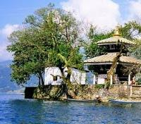 Barahi Temple in the middle of Phewa Lake