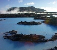 Blue Lagoon Overhead View