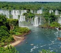 Brazil Signature Honeymoon Tours 2018 - 2019 -  Brazilian side of Iguazu Falls