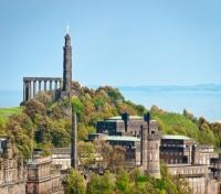 Calton Hill at Edinburgh