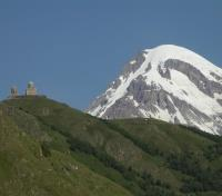 Kazbegi & Trinity Church