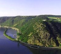 Rhine River - Loreley Rock