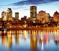 Montreal in the evening
