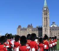 Parliament Buildings, Changing of the Guard