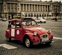 Paris by vintage 2Cv