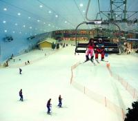 Ski Dubai Indoor Skiing Facility