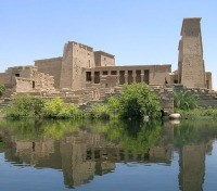 Temple of Philae on the island of Agilika