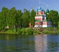 Uglich Church on Volga River
