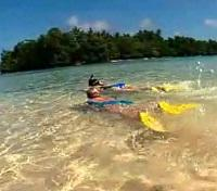 Snorkeling in Tami Islands