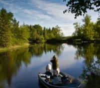 Fishing in Whiteshell Provincial Park