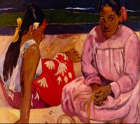 Women of Tahiti by Gauguin