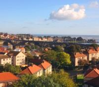 English Town Berwick on Tweed