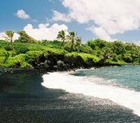 Black Sand Coast at Waianapanapa State Park