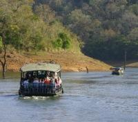 Ghats within Periyar National Park