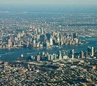 Manhattan and Queens