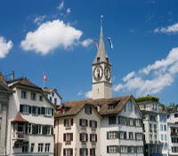 Zurich Clock Tower
