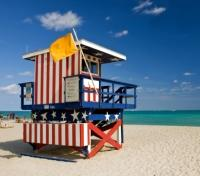 Lifeguard Hut in Miami