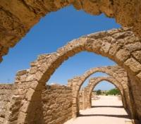 Ancient ruins of Caesarea, Israel