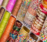 Colorful Bangles at the Local Market