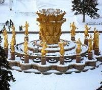 Friendship Fountain at All-Russian Exhibition Center