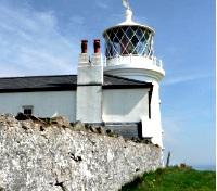 Lighthouse at Caldey Island